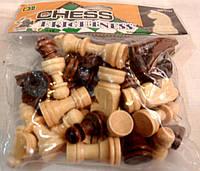 Набір дерев'яних шахових фігур, фото 1