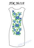 Платье женское без рукавов ПЖ118