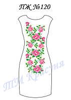 Платье женское без рукавов ПЖ120