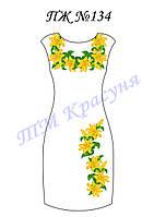 Платье женское без рукавов ПЖ134
