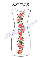 Платье женское без рукавов ПЖ135