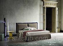 Итальянская кровать с мягким изголовьем Oliver фабрика Felis