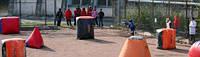 Пейнтбол для детей на спортивной площадке в г. Симферополе