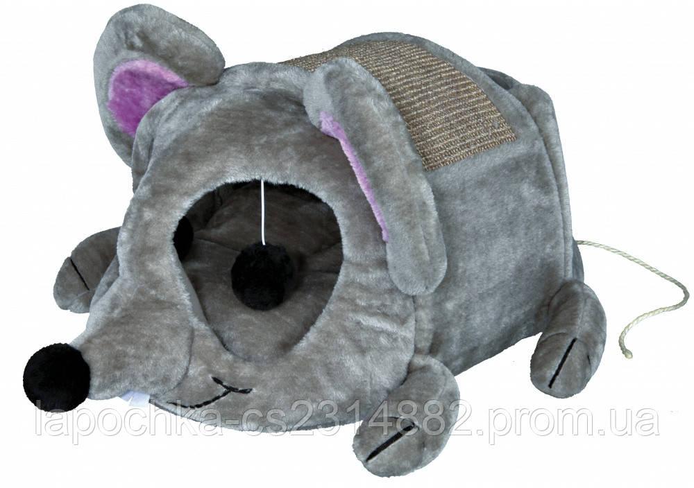 Когтеточка-домик Trixie Lukas для кошек, 35 х 33 х 65 см