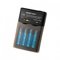 Зарядное для аккумуляторов АА/ААА ROBITON Smart S100 BL1