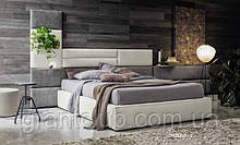 Мягкая современная кровать с широким изголовьем SOMMY фабрика Felis (Италия)