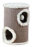 Когтеточка Trixie Edoardo для кошек, домик-башня, 33 х 50 см