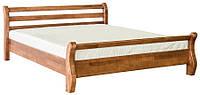 """Кровать деревянная """"Афина"""" 1600 Мебель-Сервис  /  Ліжко дерев'яне Афіна 1600"""