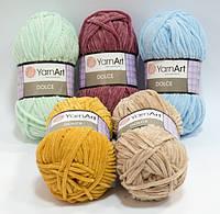 Пряжа для ручного вязания dolce yarnart / дольче ярнарт