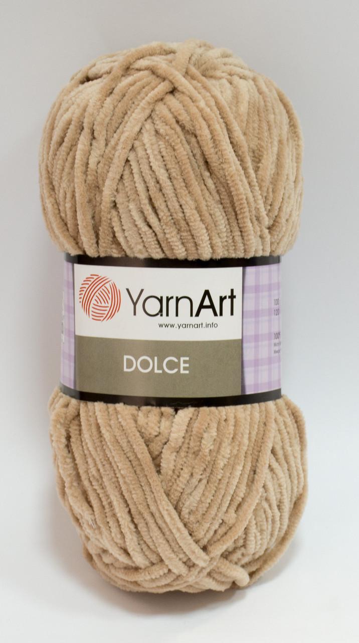 Пряжа dolce - цвет бежевый