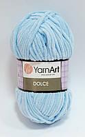 Пряжа dolce - цвет голубой