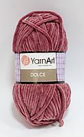 Пряжа dolce - цвет темно-розовый