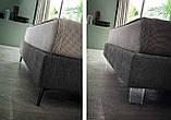 Итальянская мягкая кровать с подсветкой в изголовье Penny фабрика Felis, фото 6