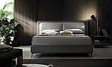 Итальянская мягкая кровать с подсветкой в изголовье Penny фабрика Felis, фото 2