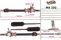 Рейка без Г/У MAZDA 323 III (BF) 85-89,323 III Station Wagon (BW) 86-90   MSG - MA 102