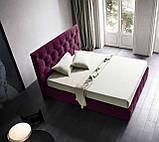 Итальянская классическая кровать в ткани Hamilton фабрика Felis, фото 3