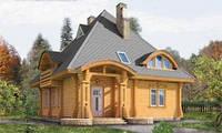 Создание Деревянный дом из сруба 178 м2.