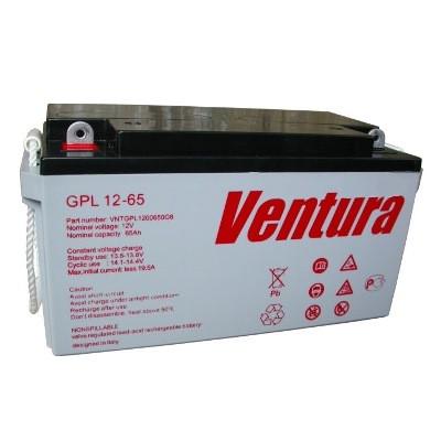 Аккумулятор Ventura GPL 12-65 (12В, 65АЧ)