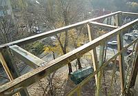 Вынос балкона по подоконнику в хрущевке