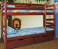 """Кровать деревянная детская """"Кенгуру"""" Мебель-Сервис  /  Ліжко дерев'яне дитяче Кенгуру"""