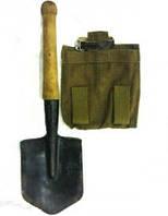 Лопатка Солдатская саперная с чехлом в комплекте
