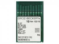Иглы для промышленных швейных машин DCx27 # Groz-Beckert (Германия)