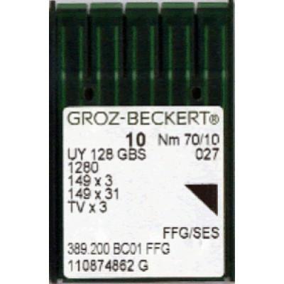Голки для промислових швейних машин UY128GS # Groz-Beckert (Німеччина)