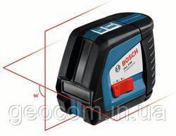 Лазерный построитель плоскости Bosch Professional GLL 2-50 + вкладка под L-Boxx