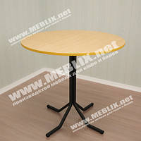 """Стол для кафе и баров """"Дуэт""""-круглый (d=800). Круглые столы для кафе и баров, столы обеденные круглые"""