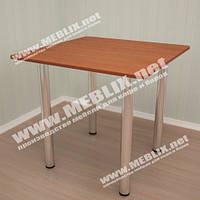 Стол для кафе обеденный на хромированных ножках (800*800*750h)