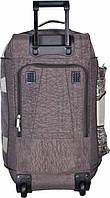 Дорожная Сумка-рюкзак на колёсах Bagland  (Black\EL)