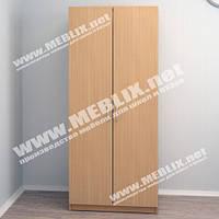 Шкаф для одежды ШО-1 (600*350*1840h), офисный шкаф для одежды, шкафы для верхней одежды
