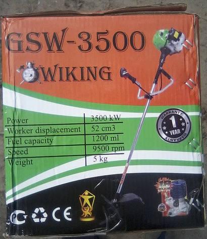 Мотокоса Wiking GSW-3500 Professional, фото 2