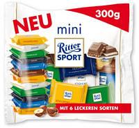 Набор шоколадок Ritter Sport mini 300гр