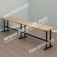 Лавка для школьной столовой (1800*300*450h)
