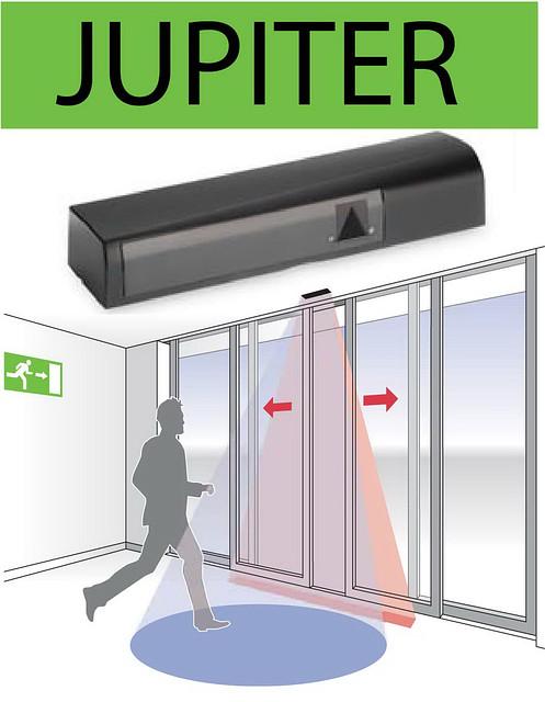 Сенсор автоматических дверей - Датчик присутствия для автоматических дверей