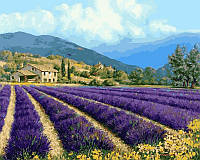 Картины по номерам 40×50 см. Прованский пейзаж худ. Майкл Свенсон