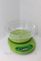 Кухонные электронные весы от 1г до 5 кг Green