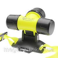 Налобный подводный фонарь для дайвинга фонарик