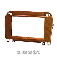 Рамка переходная 11-409 (carav) Mercedes-Benz SL (R230) 2001+ wooden 2-DIN