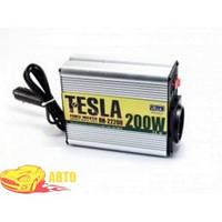 Преобраз. напряжения TESLA ПН-22200/12V-220V/200W/USB-5VDC0.5A/мод.волна/прикуриватель