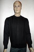 Мужской джемпер с кожаными вставками Gianni Marcelo, фото 1