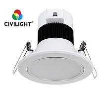 Світильник світлодіодний врізний 4Вт 250лм 3000K LED Down Light CCD211 CIVILIGHT 5002