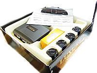Парктроник на 4 датчика Luxury 1001 чёрный