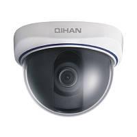Внутренняя купольная аналоговая камера видеонаблюдения QIHAN QH-D210C-2