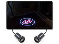 Подсветка дверей авто проектор логотипа автомобиля KIA