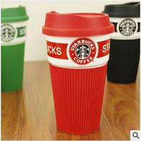 Чашка керамическая кружка Starbucks Red