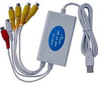 USB видеорегистратор четырехканальный DVR 357N USB карта видеозахвата оцифровка