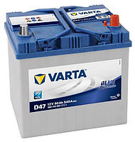 Автомобильный аккумулятор Varta 6СТ-60 BLUE dynamic (D47)