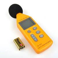 Цифровой измеритель уровня шума, шумомер 40-130 дБ